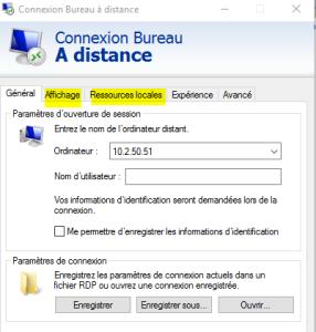Sio57 » Accès distant – RDP SSH- RDS (terminal serveur)